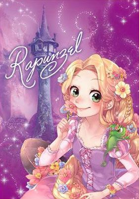 Disney - Jigsaw Puzzle -Sweet Bag Collection- Rapunzel (SBC) Stained Art 266pcs (DSG-2668-784)(Released)