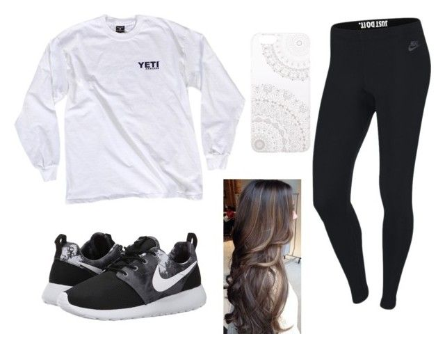 """""""Untitled #87"""" by xv-autie on Polyvore featuring NIKE and Monika Strigel"""
