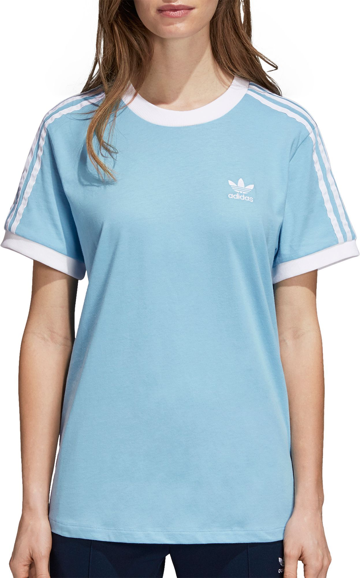 adidas Women's 3-Stripes T-Shirt | Products in 2019 | Adidas ...