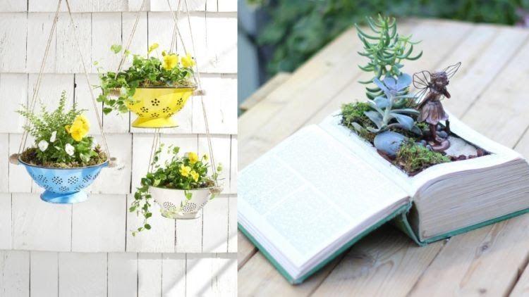 30 Gambar Lukisan Bunga Dalam Pot 15 Kreasi Pot Tanaman Dari Barang Bekas Ini Sungguh Unik Dan Download Filosofi Dan Makna Lukisan Bunga Bunga Pot Tanam