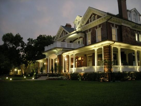 our business Signature Landscape Lighting  Designers and installers of Low voltage and LED