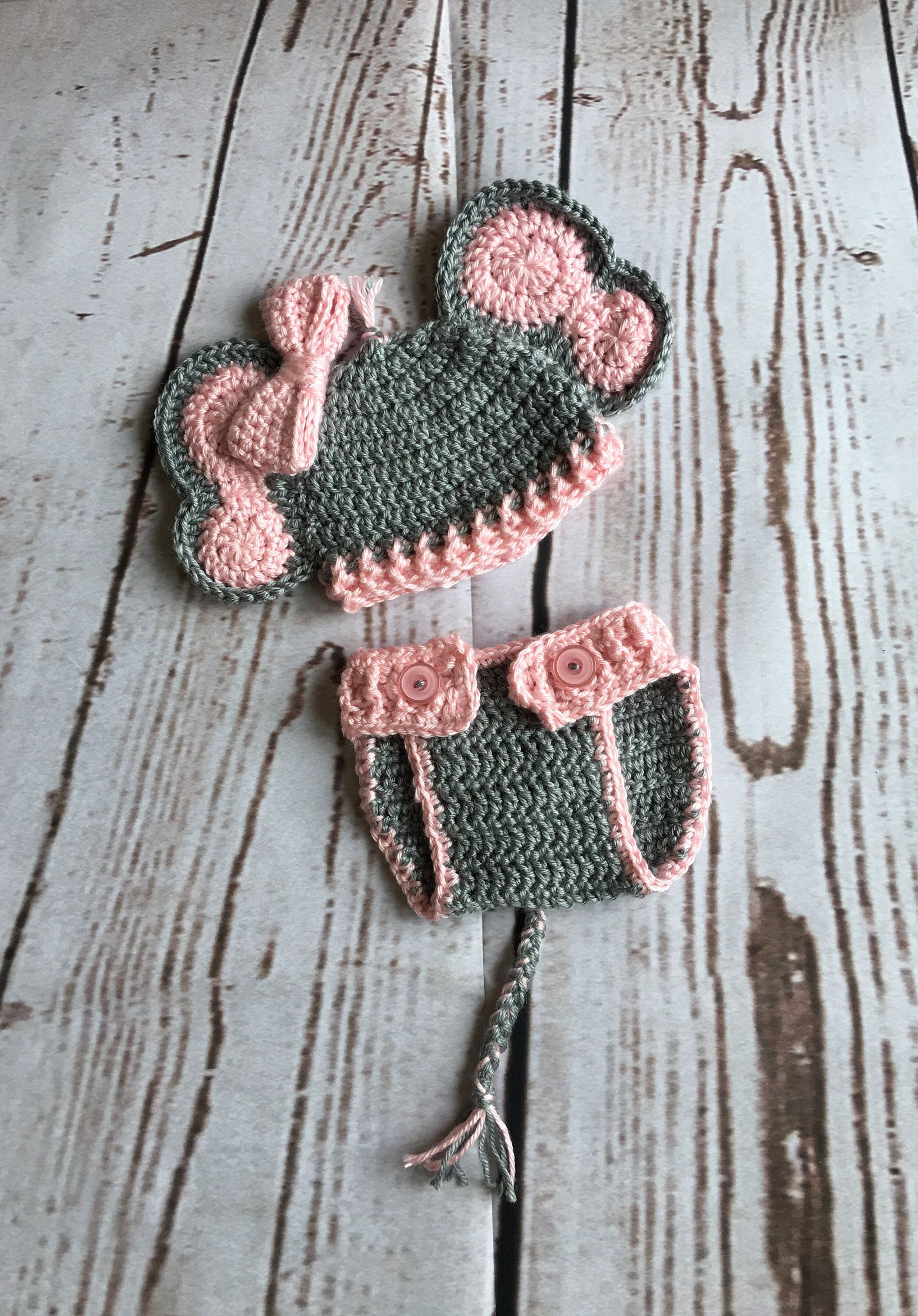 Newborn Elephant Outfit - Newborn Photo Prop - Baby Photo Prop - Newborn Photo Outfit - & Newborn Elephant Outfit - Newborn Photo Prop - Baby Photo Prop ...