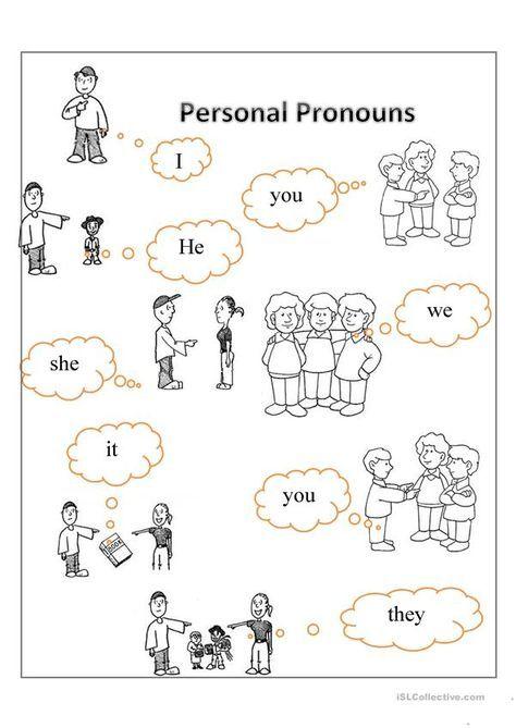 Personal Pronouns Personal Pronouns Pronoun Worksheets Personal Pronouns Worksheets