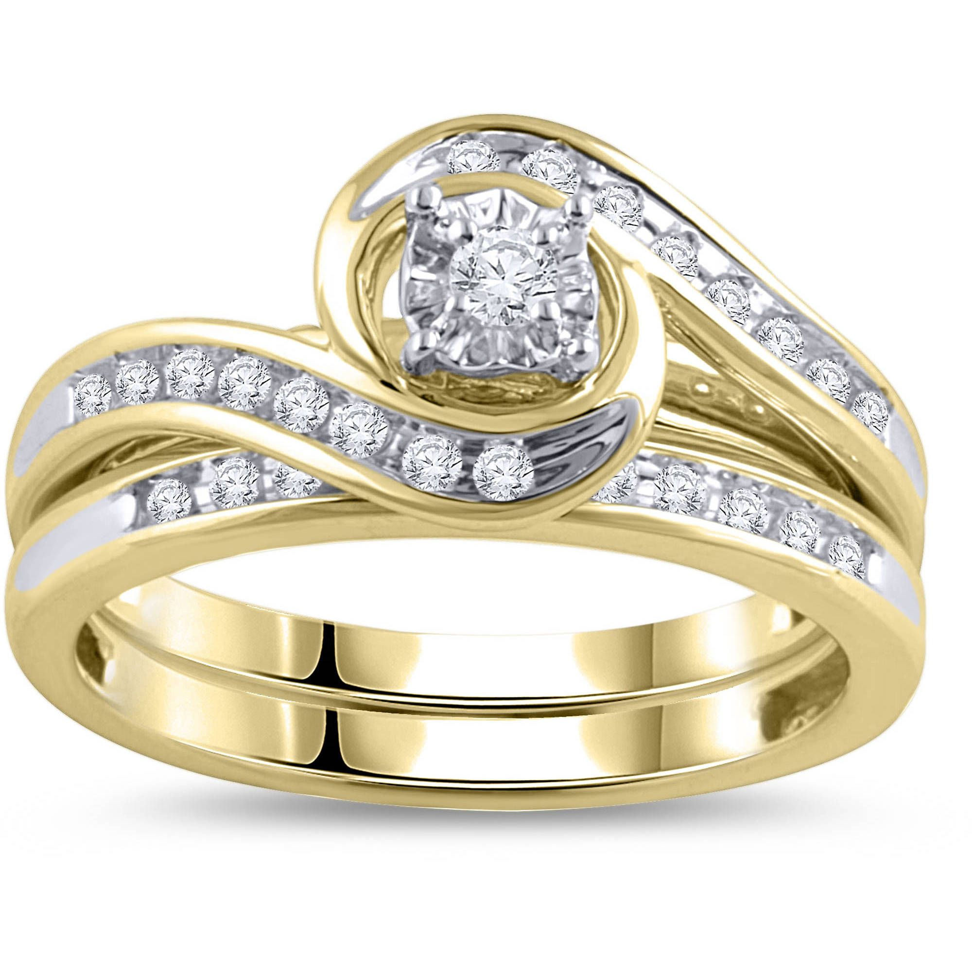 for couples rings diamond promise engagement gold couple ring wedding nicoh
