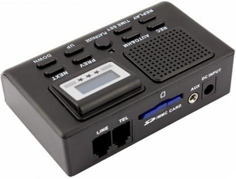 Grabadora Espia Para Telefono Fijo Graba Conversaciones De Voz Desde El Telefono De Casa Un Producto Espia Para Detec Walkman Audio Mixer Electronic Products