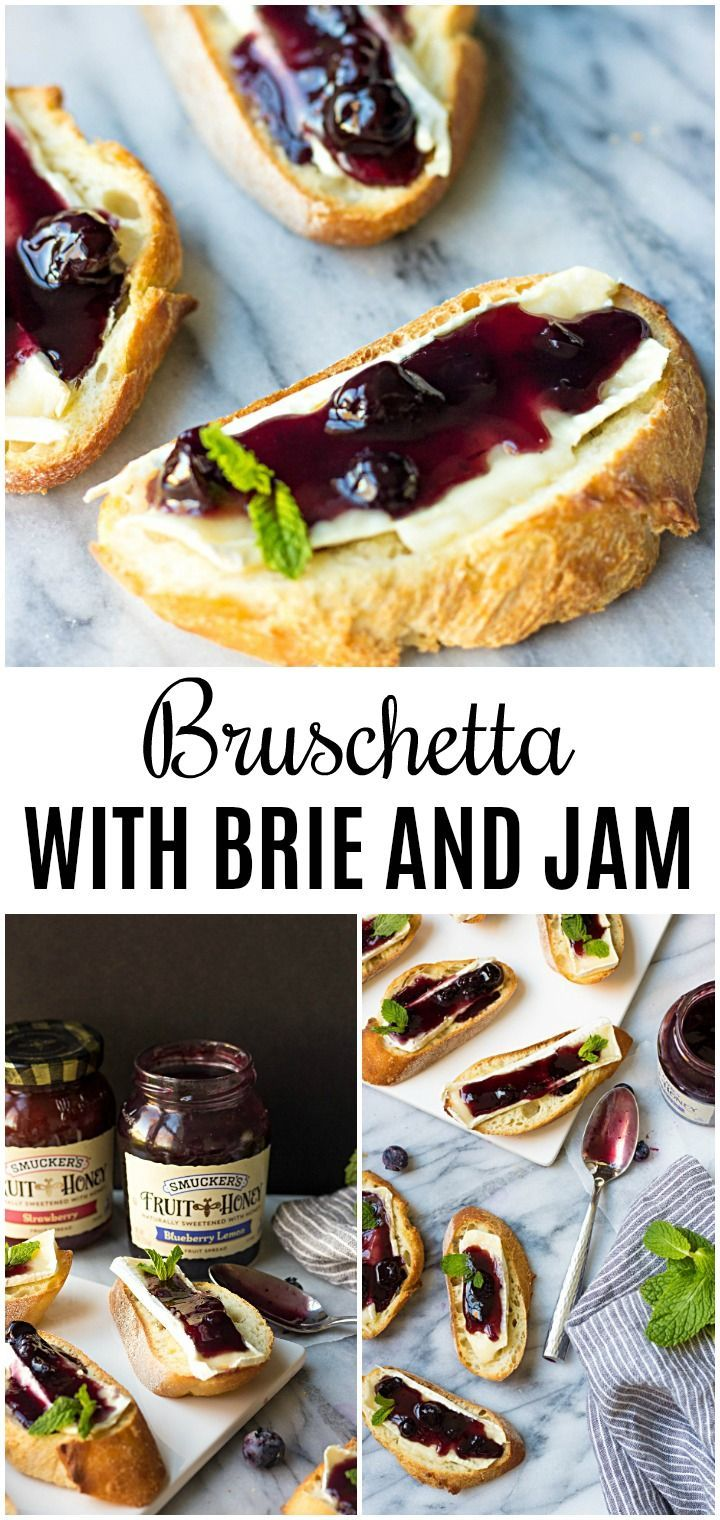 Crostini With Brie And Blueberry Lemon Fruit Spread - Lavender & Macarons