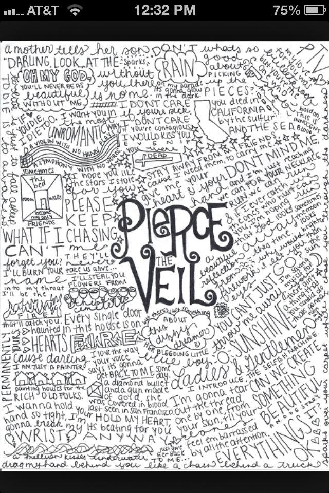 Pierce the veil lyrics