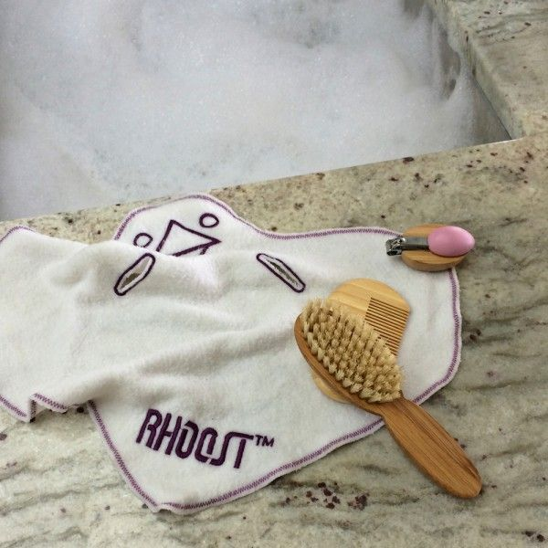 Baby Grooming Kit from Rhoost - we love their great aesthetic + they're 100% natural/organic! @Rhoost #babygear