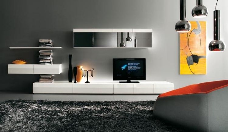 [ Modern Tv Wall Units Styling Kitchen Colorful Props Break Grey ]   Best  Free Home Design Idea U0026 Inspiration