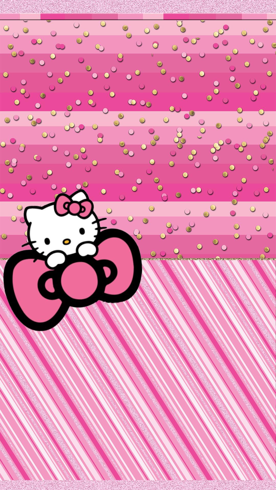 Wallpaper I Made Enjoy Wallpaper Hello Kitty Backgrounds Hello Kitty Pictures Hello Kitty Wallpaper