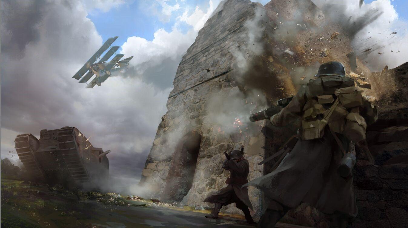 3ejtkop Jpg Obrazek Jpeg 1347 753 Pikseli Concept Art Battlefield 1 Battlefield