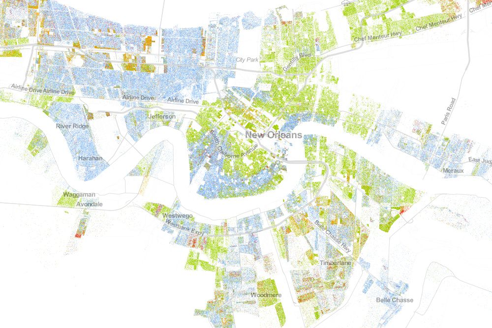 Ninth Ward New Orleans Map. New Orleans Community Activist ...