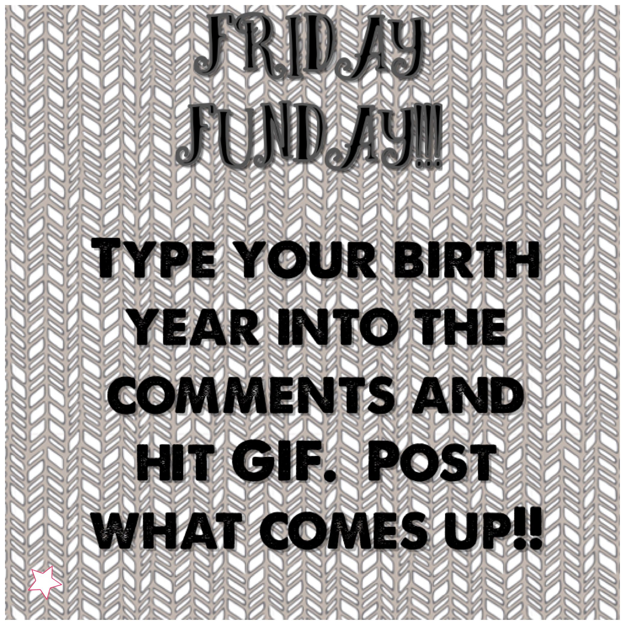 fridayfunday interactive post for Facebook VIP group using a