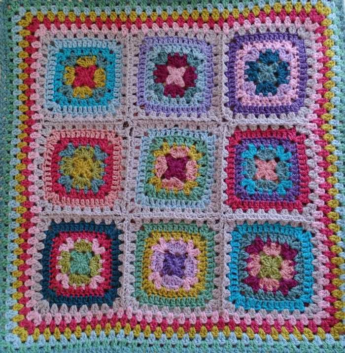 Attic24 Harmony Squares Bag All Squares Fat Bottomed Bags