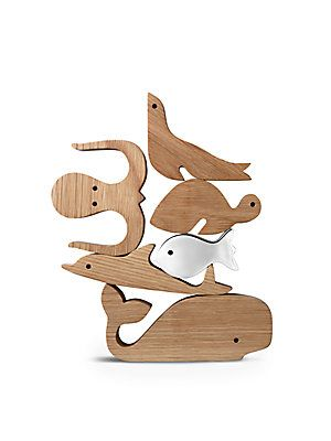 Georg Jensen Aquamarine Toy Figurines