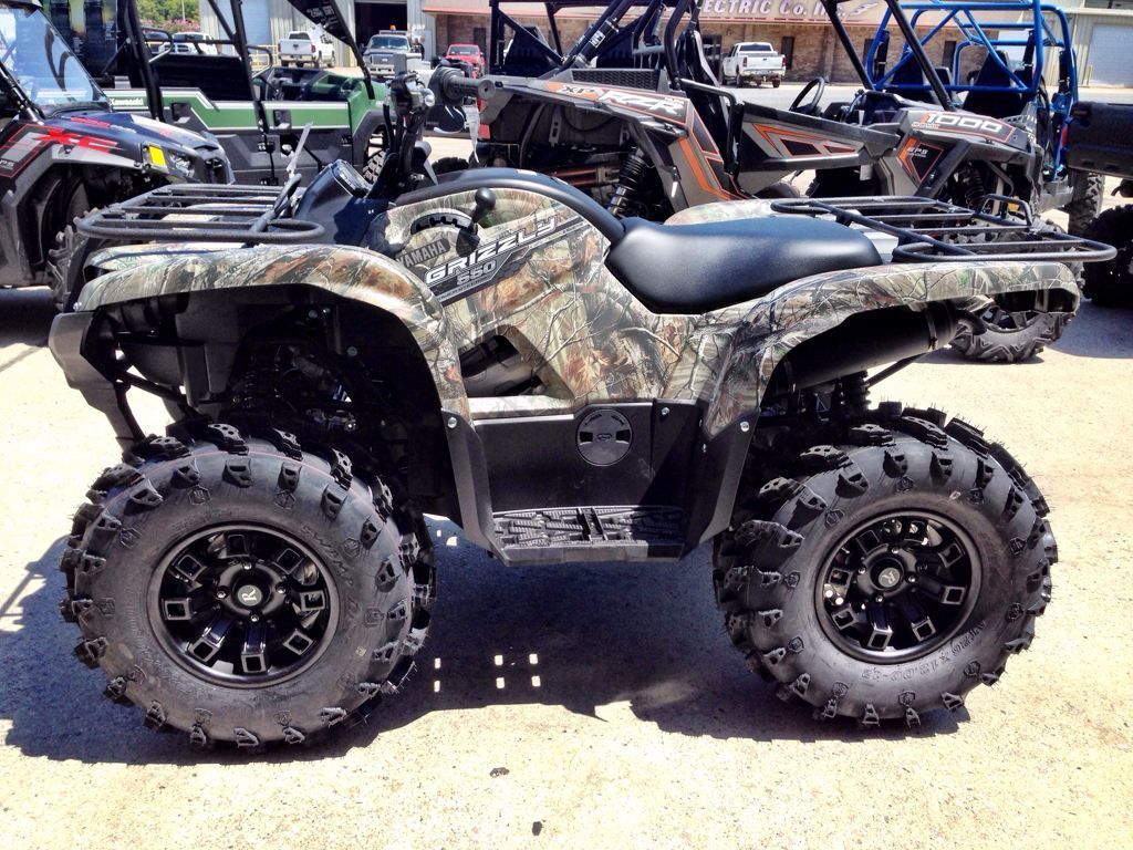 Yamaha Grizzly 550 with Remington Wheels & Tires ATV