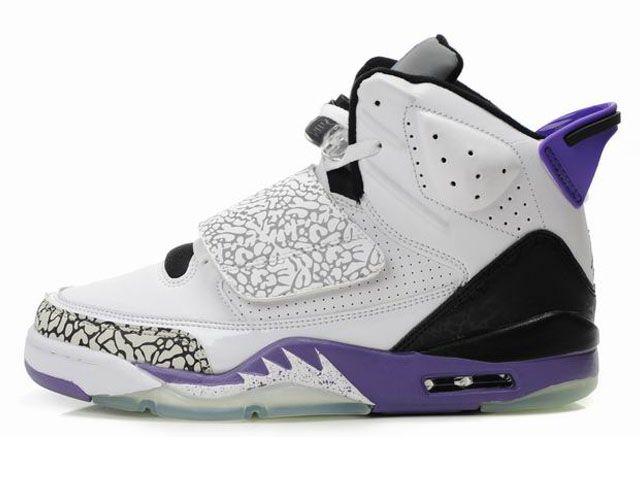 3a680ea7dd4b30 cheap white purple back air jordans 21 xxi son of mars online ...
