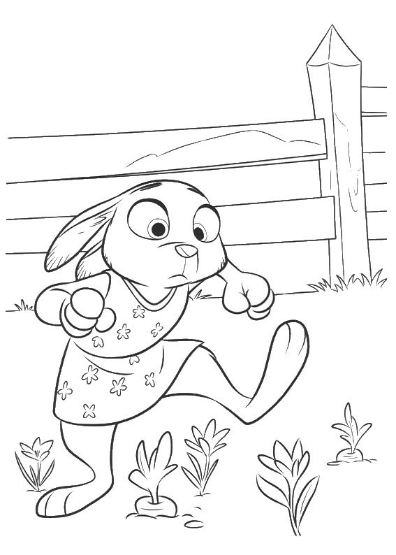 Zootopia Coloring Pages Zootopia - new zootopia coloring pages free