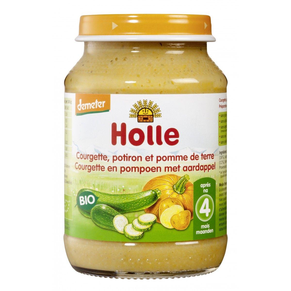Courgette Et Potiron Avec Pomme De Terre Sebio Baby Food Recipes Baby Food Jars