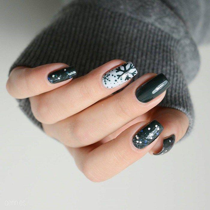 winter nail art design,winter nail polish,winter nail art ideas ...