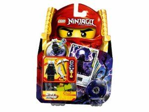 Lego- Ninjago 2256 Lord Garmadon by LEGO. $14.99. Evil Lord Garmadon, master of the Power of Destruction, is the son of the first Spinjitzu Master and brother of Sensei Wu. Spin to victory against the Spinjitzu masters and use the four battle cards to influence the outcome. Set also includes evil optic spinner, 3 weapons, 1 character card, 4 battle cards and LEGO bricks.