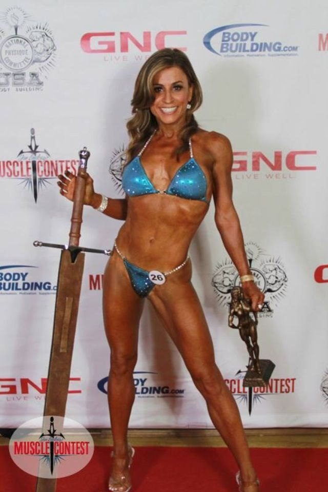 First competition in LA July/2014 Masters 45 plus NPC
