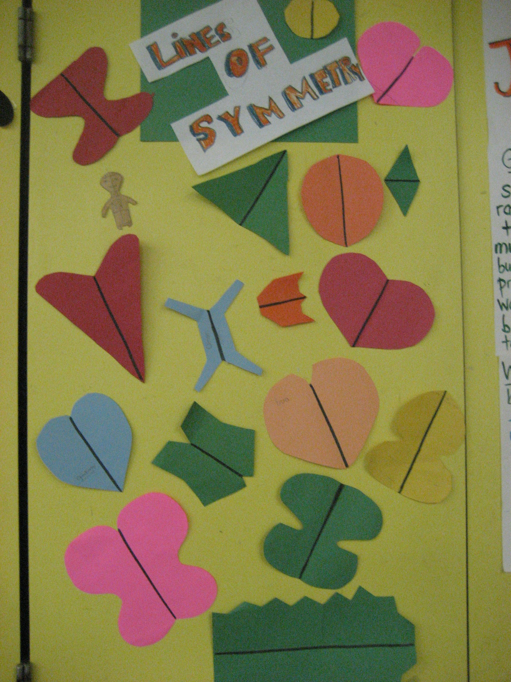 Symmetry activity | Mighty Mathletes! + | Pinterest | Symmetry ...