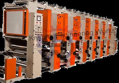 Rotogravure Printing Machine Roto Gravure Pritning Lamination Machine Adhesive Tape Electrical Tape Prints