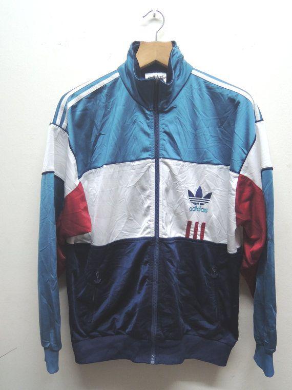 Vintage 90s Adidas Big Logo Sweater Sport Street Wear Swag Hip Hop Top Tee  Punk Rock Size XL Measurement   Armpit to armpit   24 Shoulder to c5d594294