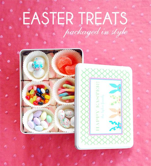 Easter treats in stylish packaging easter pinterest easter cute packaging for easter candy gifts negle Choice Image