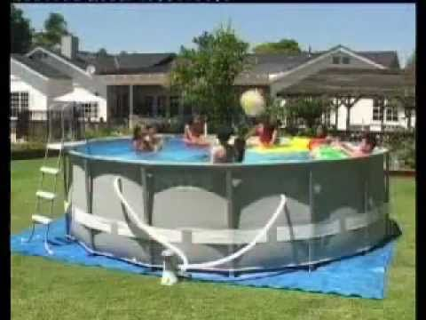 Intex Ultra Metal Frame Pool Instructions Videos Above Ground
