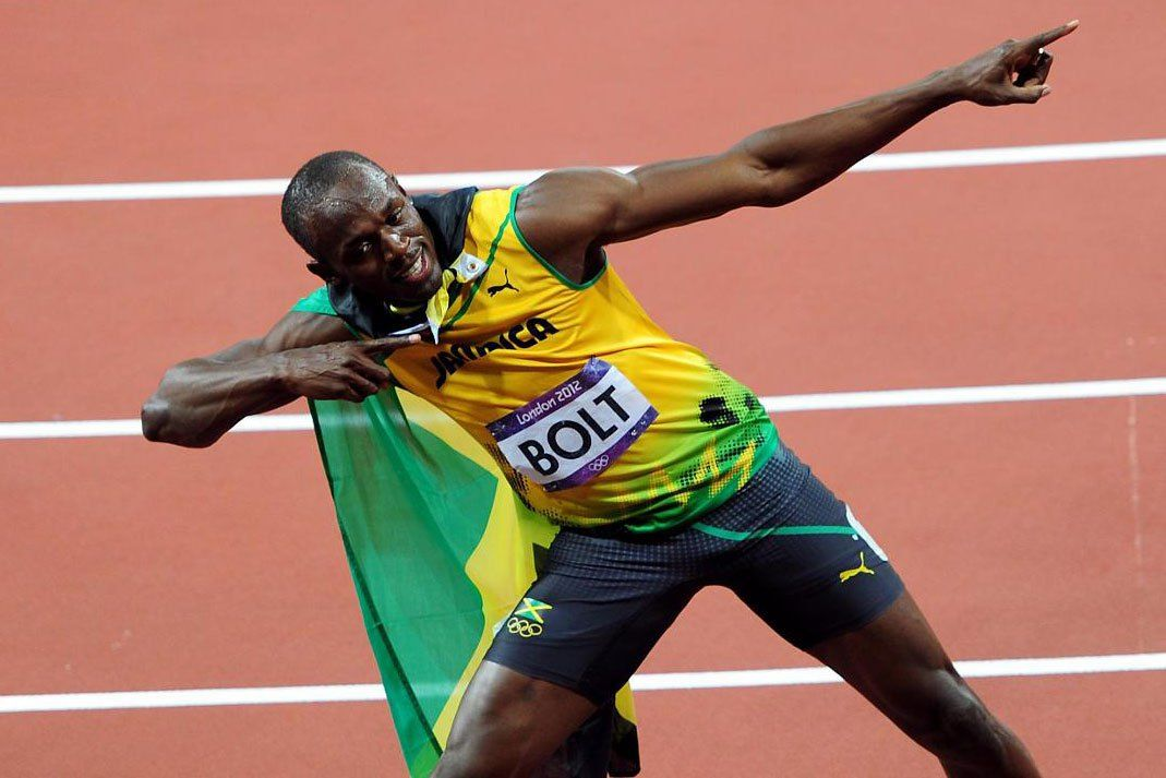 Usain Bolt Wins 100m Final, Winning the Olympic Gold for ...