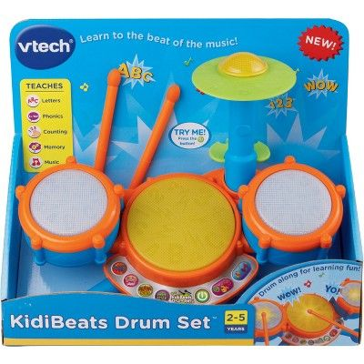 Vtech Kidibeats Drum Set Toy Drums And Percussion Products