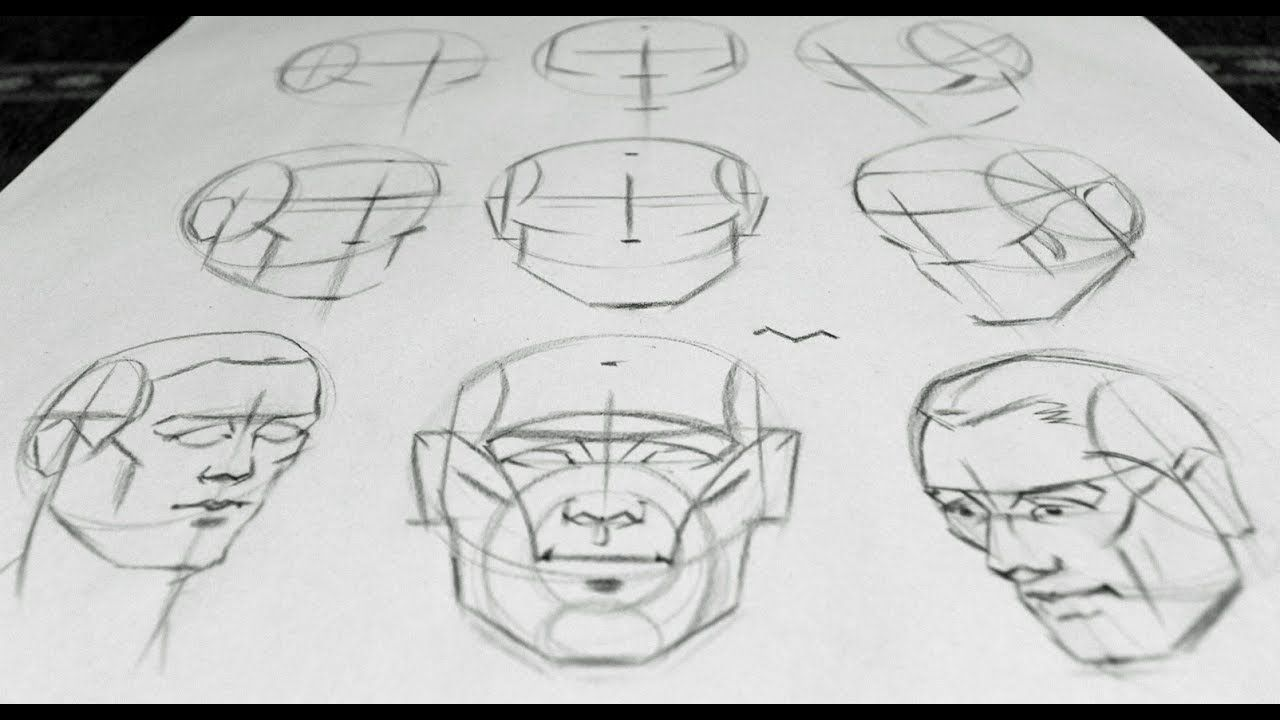 Portrait Drawing Basics - YouTube | Sketch and Drawing School ...