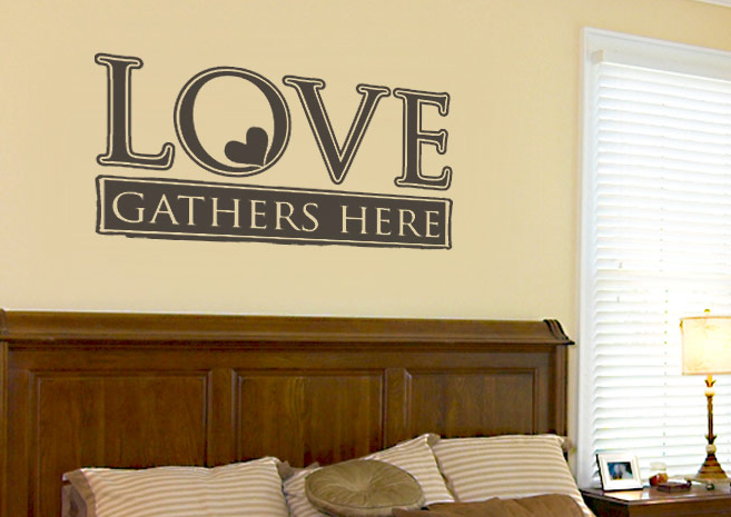 Most love saying wall decal for couples bedroom | LOVE | Pinterest ...