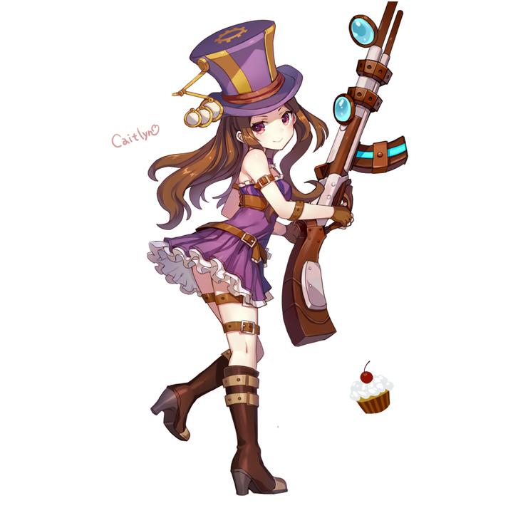 caitlyn policial lol cosplay - Google 検索