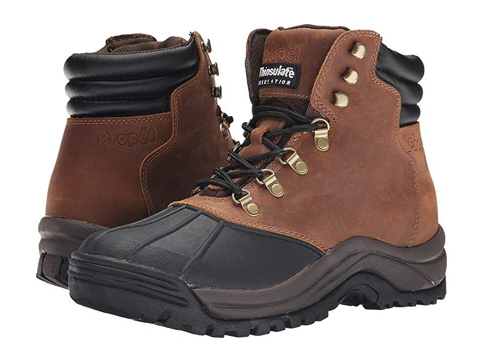 f14f0c47f13 Propet Blizzard Mid Lace Men's Boots Brown/Black | Products | Boots ...