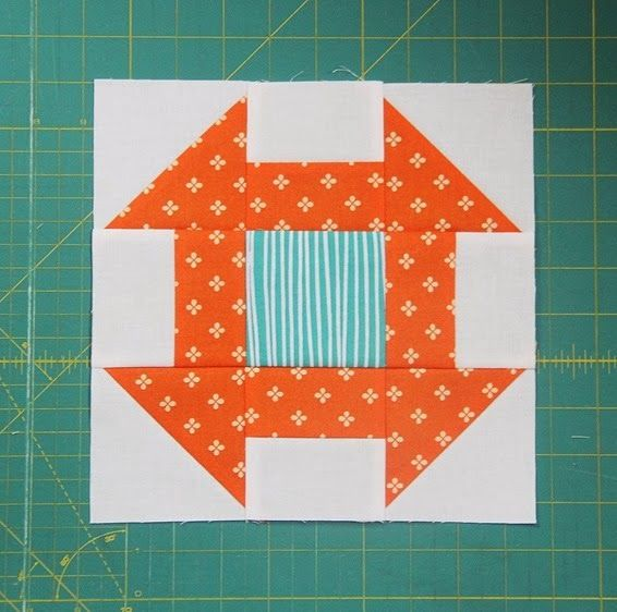 I knew I wouldn't have time to make a real pattern with yardage requirements and everything…so this will have to do for now! This is a fun quilt to make…chain piece everything and you can w…