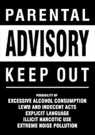 Funny Bedroom Door Signs Keep Out Parental Advisory Manda's Delectable Keep Out Signs For Bedroom Doors