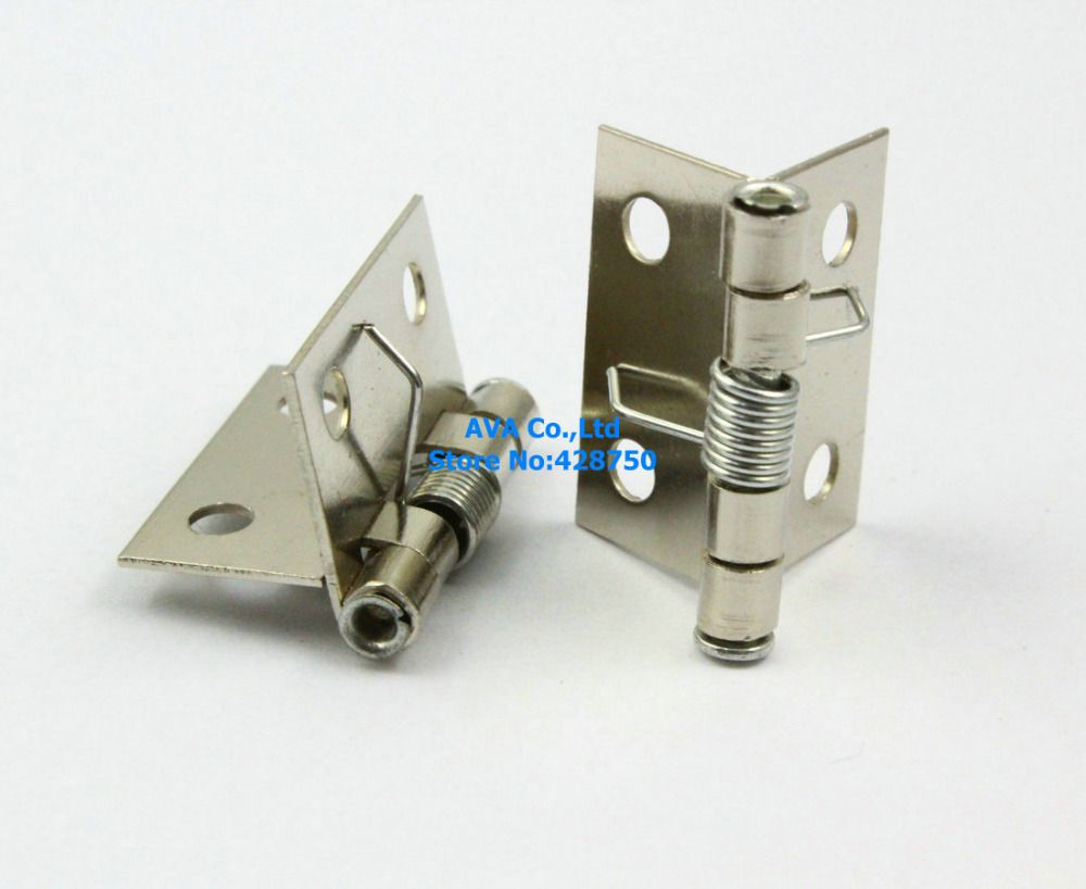 spring loaded hinges for door. 40 small automatic closed jewelry box hinge spring loaded 24mm #affiliate hinges for door