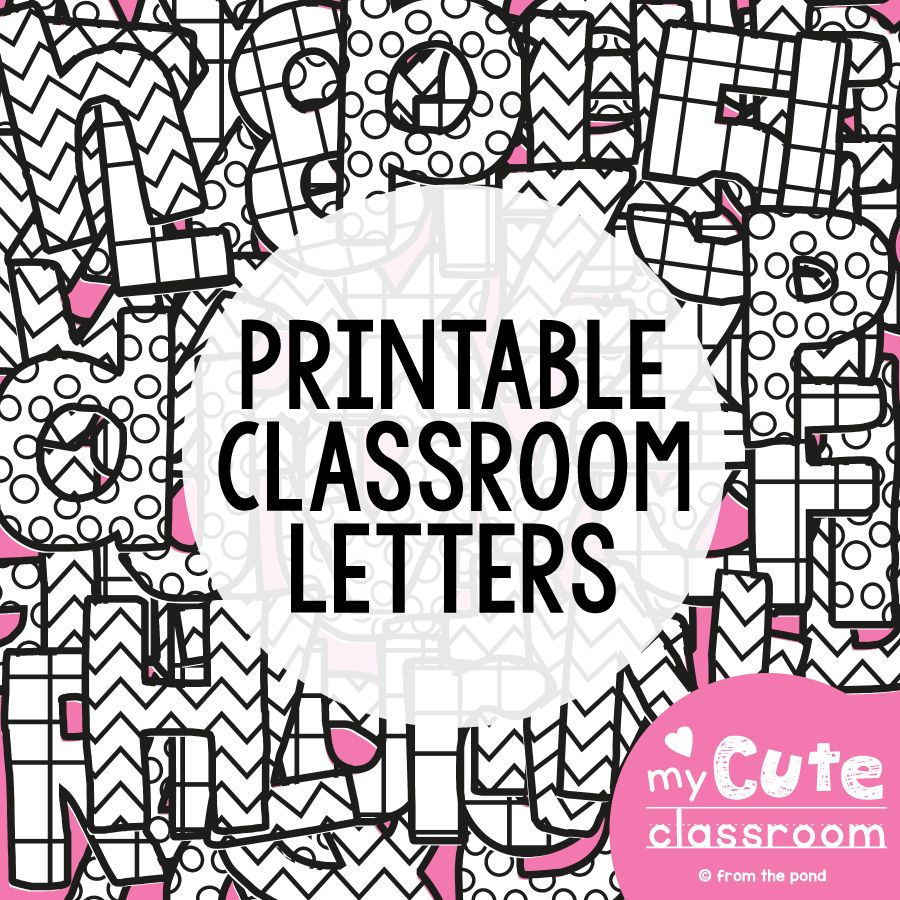printable bulletin board letters | bulletin board letters, bulletin