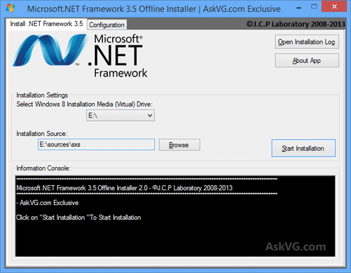Microsoft_Dot_Net_Framework_Offline_Installer_Windows_8 GUIDE