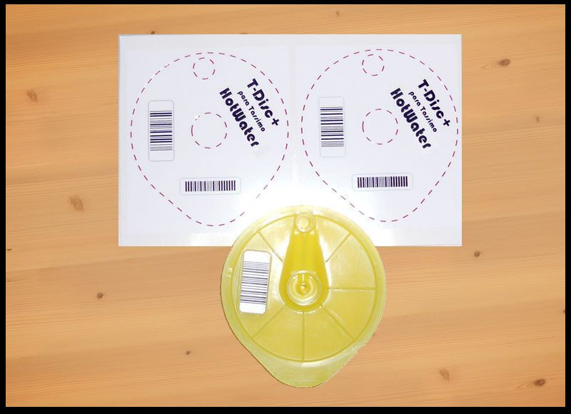 T disc tassimo para hacer agua caliente para tes la vida m s f cil pinterest - Porte capsule tassimo ...