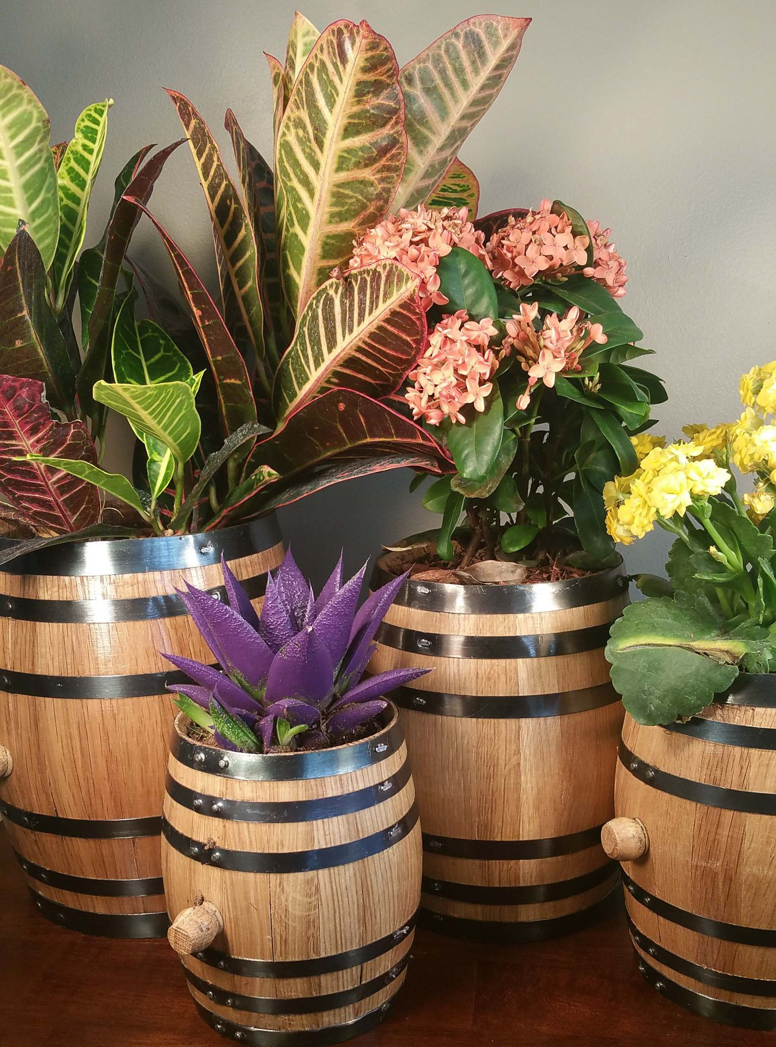 Love the look of barrels and want to bring it into your home and ...