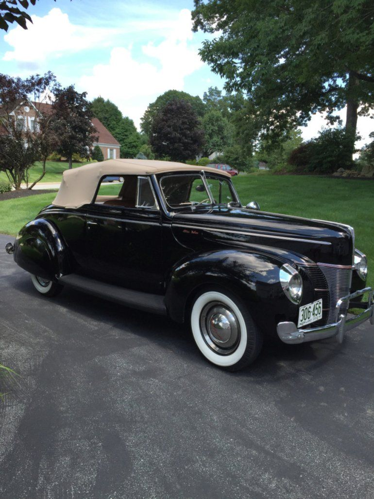 1940 Ford Deluxe Convertible..Re-pin brought to you by agents of ...