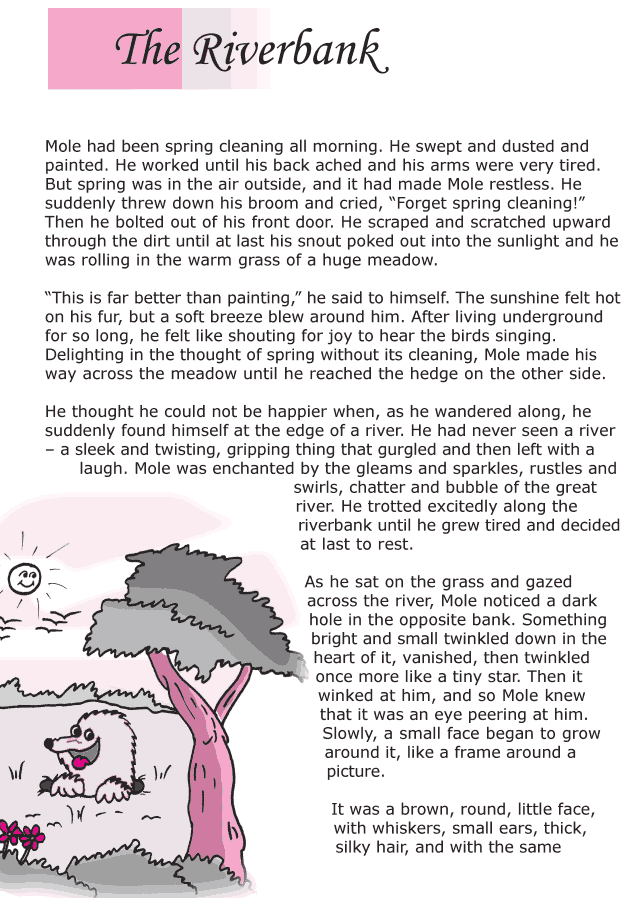Grade 6 Reading Lesson 15 Classics - The Riverbank (1) | stories