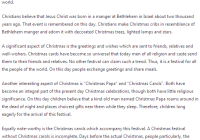 Bon My Favorite Festival Christmas Essay In English PDF
