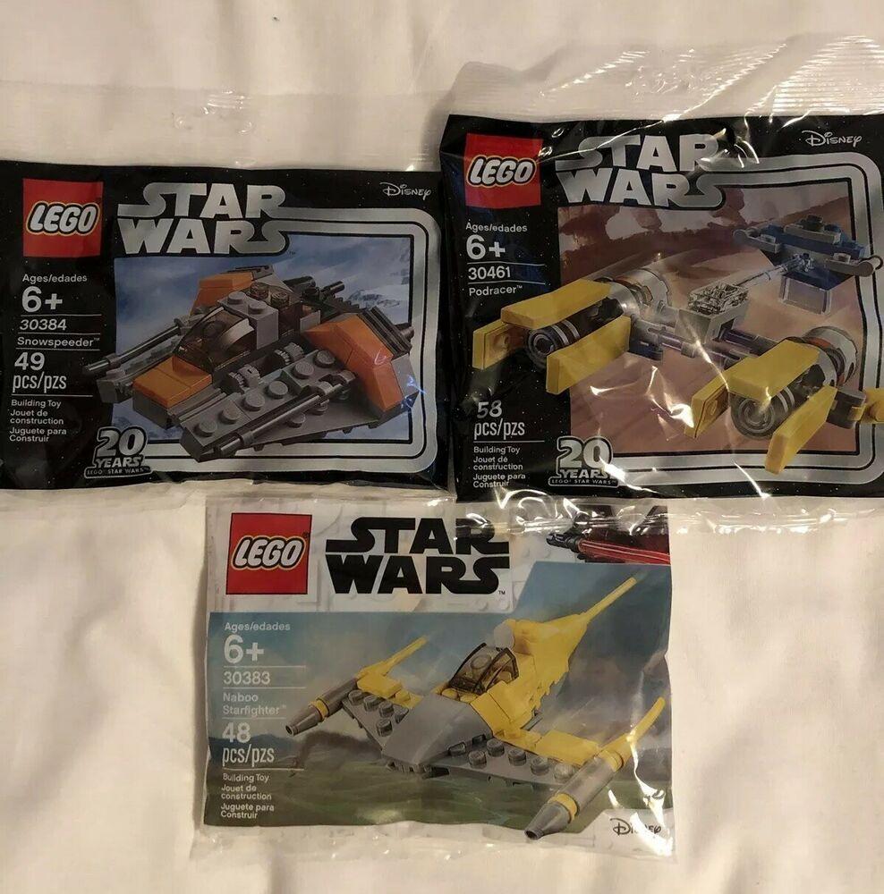 LEGO ® Star Wars 30384 Mini Snowspeeder 20 years LEGO Star Wars polybag