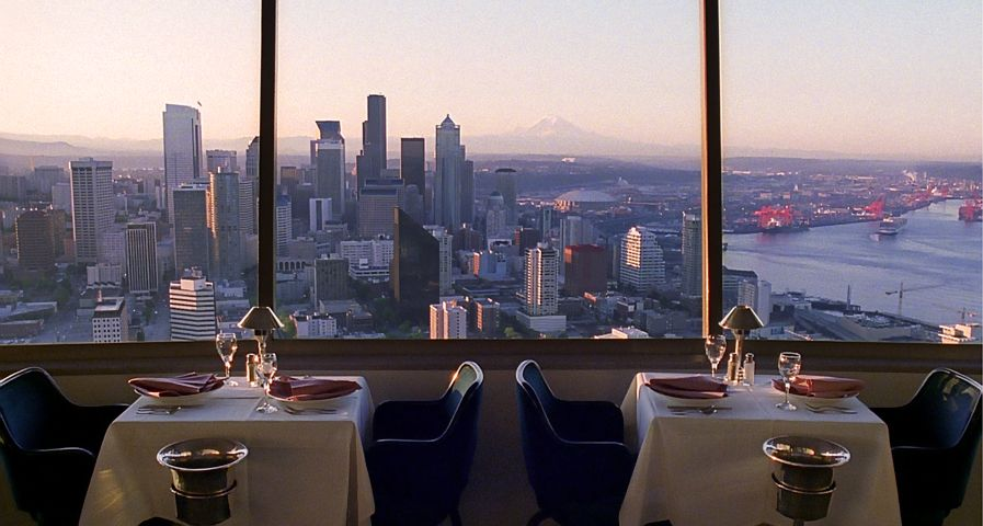 Sky City Restaurant  Space Needle in Seattle  WA  for brunchSky City Restaurant  Space Needle in Seattle  WA  for brunch  . Dinner Seattle Space Needle. Home Design Ideas