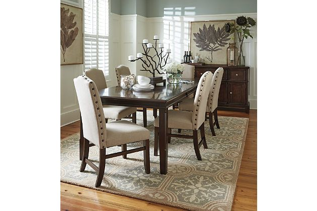 Lavidor Dining Room Table And Chairs, Plus Buffet From Ashley Furniture Part 97
